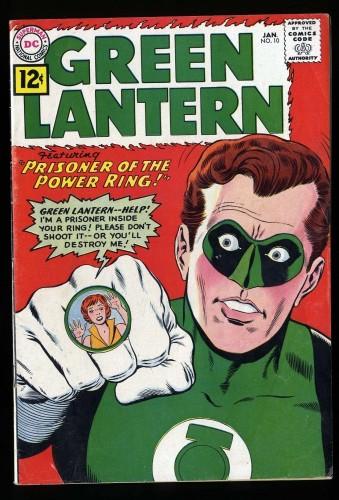 Item: Green Lantern #10 VG+ 4.5 (Restored)