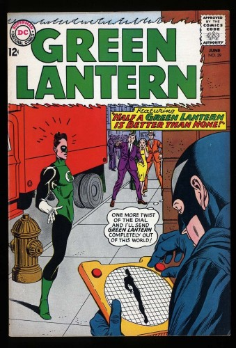 Item: Green Lantern #29 VF+ 8.5 1st Black Hand