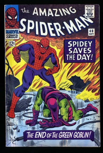 Item: Amazing Spider-Man #40 FN- 5.5 Marvel Comics Spiderman