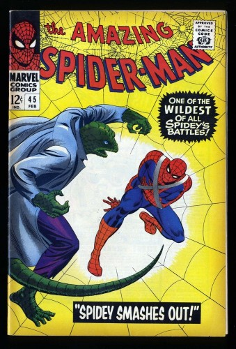 Item: Amazing Spider-Man #45 FN/VF 7.0 Marvel Comics Spiderman