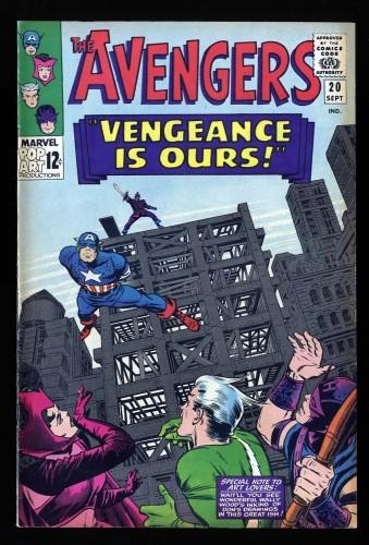 Item: Avengers #20 FN/VF 7.0
