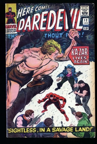 Item: Daredevil #12 FN 6.0