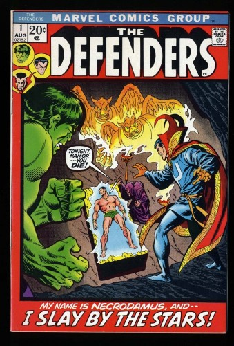 Item: Defenders #1 VF/NM 9.0