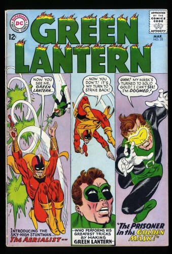 Item: Green Lantern #35 VG 4.0
