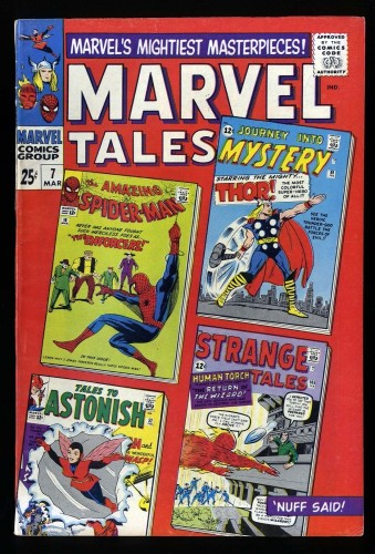 Item: Marvel Tales #7 VG+ 4.5