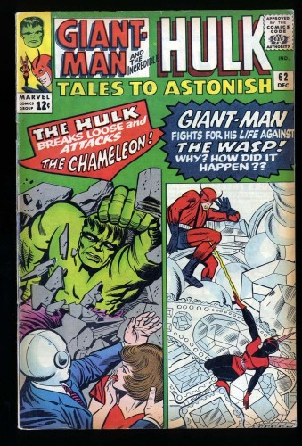 Item: Tales To Astonish #62 FN 6.0 1st Appearance of the Leader