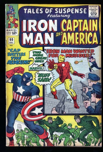 Item: Tales Of Suspense #60 FN- 5.5
