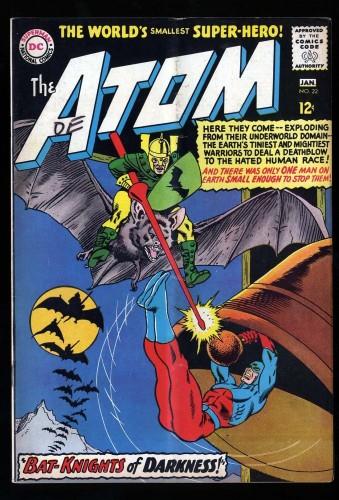 Item: Atom #22 FN 6.0