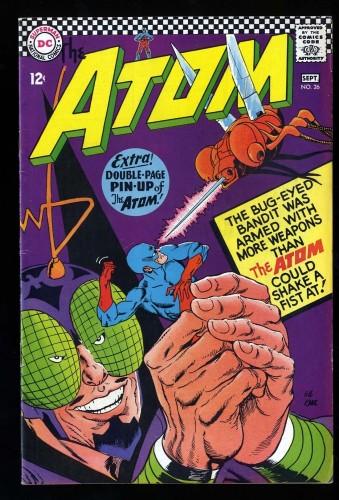 Item: Atom #26 FN 6.0