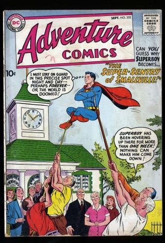 Item: Adventure Comics #252 GD/VG 3.0