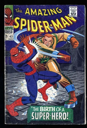 Item: Amazing Spider-Man #42 VG- 3.5