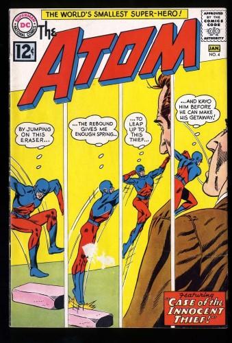 Item: Atom #4 VG+ 4.5
