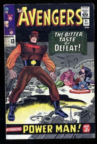 Item: Avengers #21 FN- 5.5