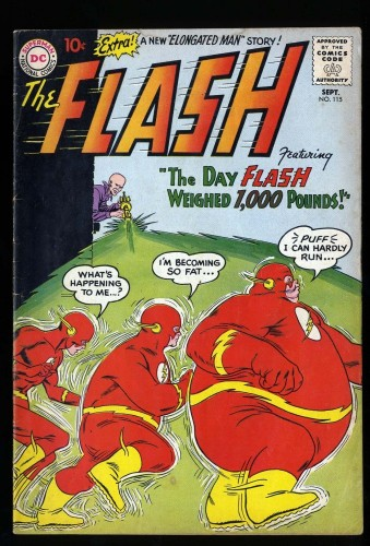 Item: Flash #115 VG 4.0