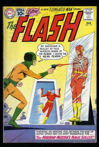 Item: Flash #119 VG/FN 5.0