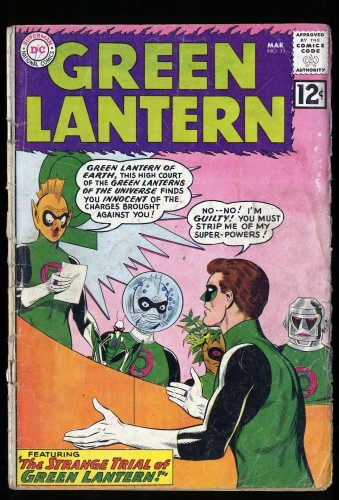 Item: Green Lantern #11 Fair 1.0