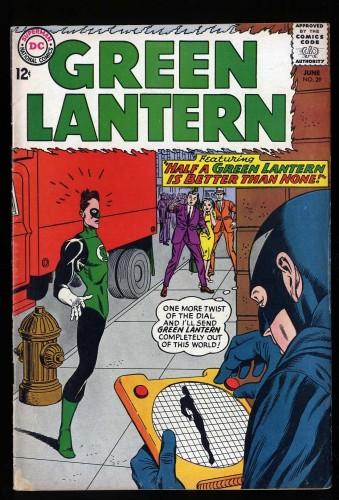 Item: Green Lantern #29 VG/FN 5.0 1st Black Hand