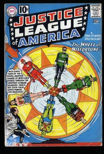 Item: Justice League Of America #6 VG- 3.5