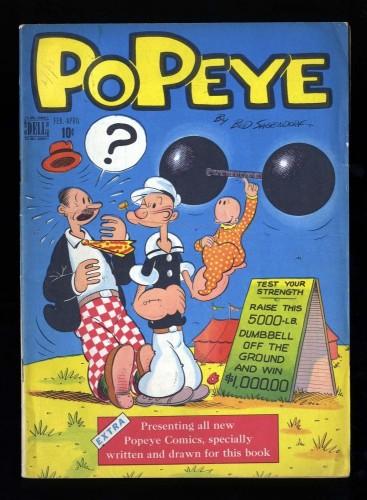 Item: Popeye #1 FN 6.0