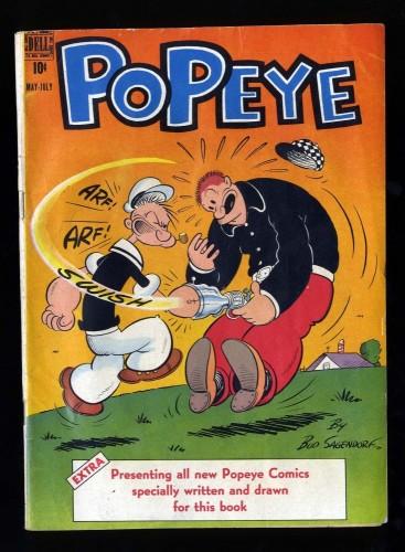 Item: Popeye #2 VG 4.0