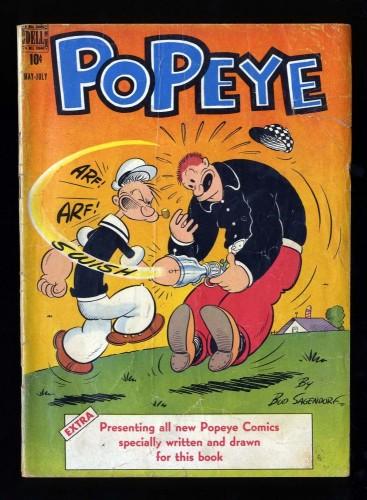 Item: Popeye #2 GD/VG 3.0