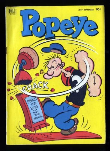 Item: Popeye #21 FN+ 6.5
