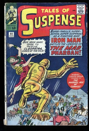 Item: Tales Of Suspense #44 GD 2.0