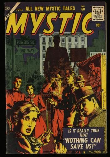 Item: Mystic #60 VF/NM 9.0 White Circle 8