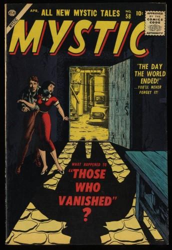 Item: Mystic #58 VF+ 8.5 White Circle 8
