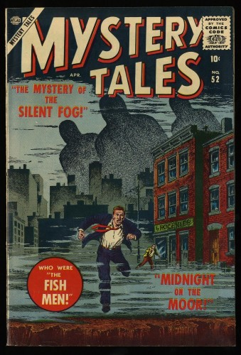 Item: Mystery Tales #52 VF+ 8.5 Off White to White Circle 8