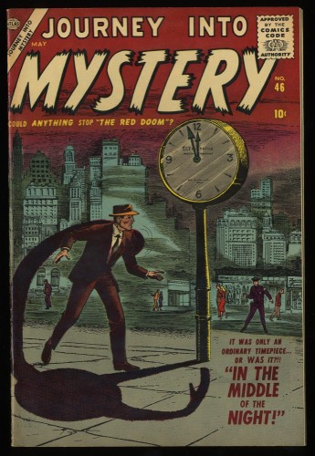 Item: Journey Into Mystery #46 NM- 9.2 White Circle 8
