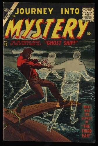 Item: Journey Into Mystery #43 VF/NM 9.0 Off White Circle 8