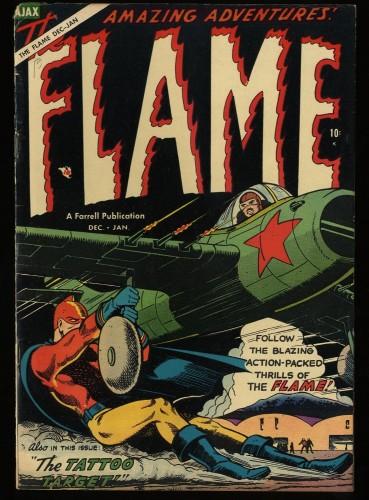 Item: The Flame #5 FN 6.0 Off White Bethlehem