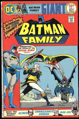Item: Batman Family #1 VG/FN 5.0