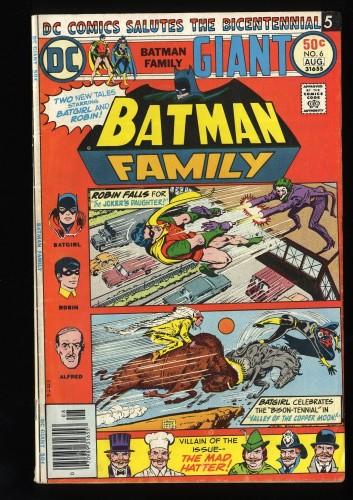 Item: Batman Family #6 VG+ 4.5
