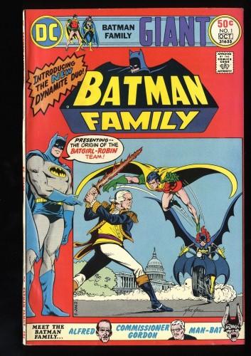 Item: Batman Family #1 VF- 7.5