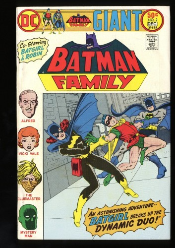 Item: Batman Family #2 FN 6.0