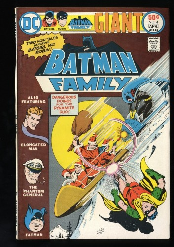 Item: Batman Family #4 VF 8.0
