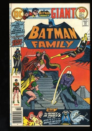 Item: Batman Family #7 VF+ 8.5