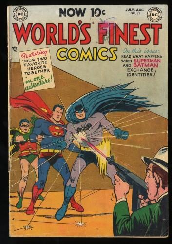 Item: World's Finest Comics #71 VG- 3.5 (Restored)