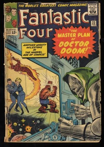 Item: Fantastic Four #23 P 0.5
