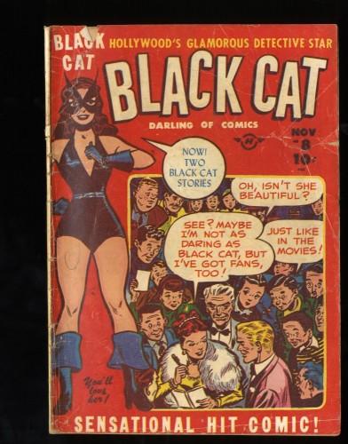 Item: Black Cat #8 GD- 1.8