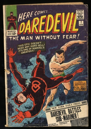 Item: Daredevil #7 Fair 1.0