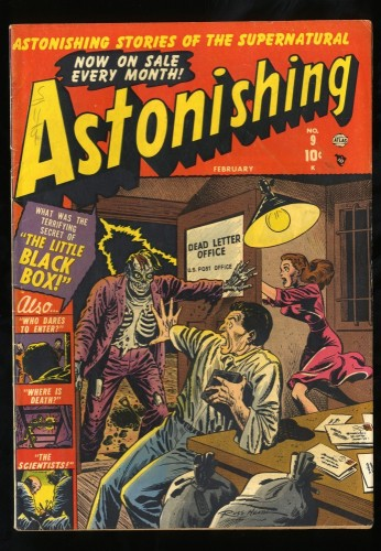 Item: Astonishing #9 FN 6.0