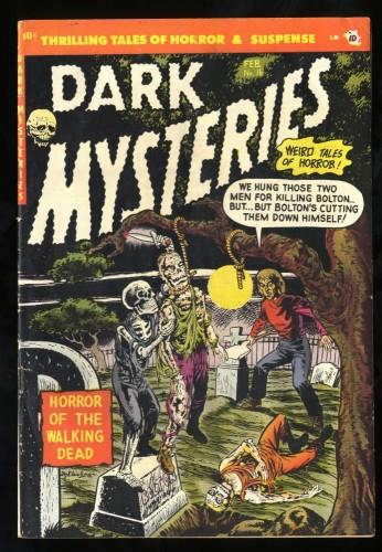 Item: Dark Mysteries #16 FN 6.0