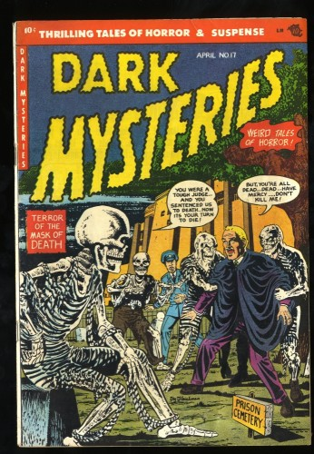 Item: Dark Mysteries #17 FN/VF 7.0