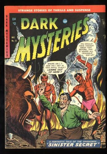 Item: Dark Mysteries #21 FN/VF 7.0