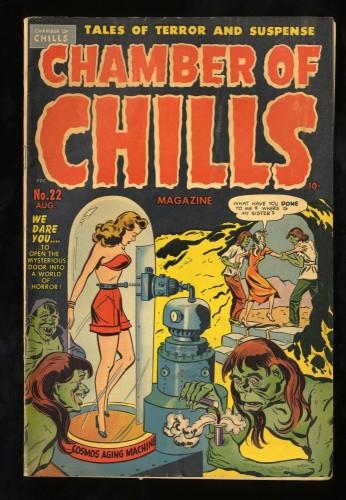 Item: Chamber Of Chills #22 VG 4.0