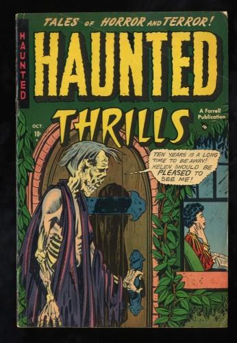 Item: Haunted Thrills #3 VG/FN 5.0
