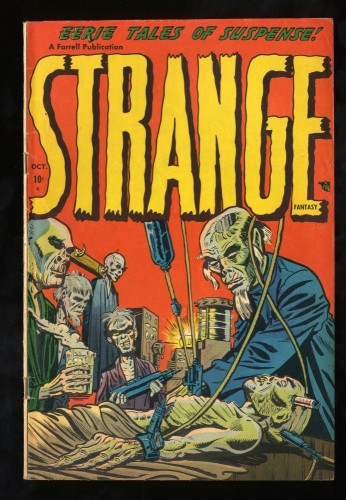 Item: Strange Fantasy #2 VG/FN 5.0